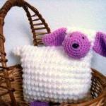 Lamb Animal Pillow Nursery Decor Cr..